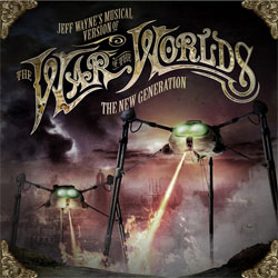 Jeff Wayne's - The War Of The Worlds - The New Generation - Album Cover