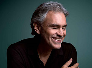 Andrea Bocelli 2019 UK Tour
