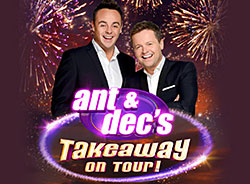 Ant & Dec's Takeaway On Tour 2014