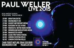 Paul Weller - 2015 Winter UK Tour Poster