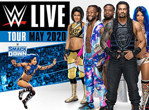 WWE Live May 2020 UK Tour